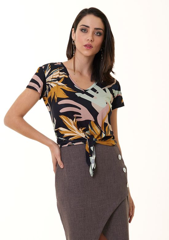 T-Shirt-Estampada-De-Viscose