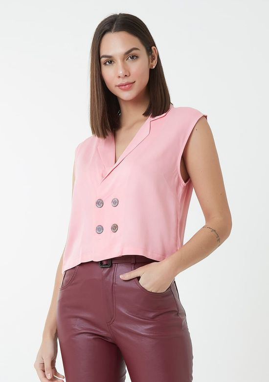 Colete-Cropped-Com-Botoes---Pink -P